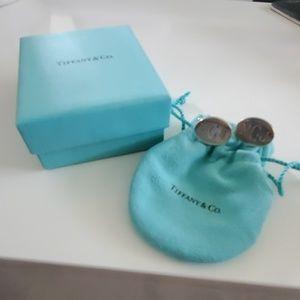 Tiffany & Co. Sterling Silver Cuff Links